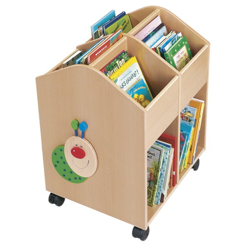 HABA® Willy the Bookworm Rolling Library - Large
