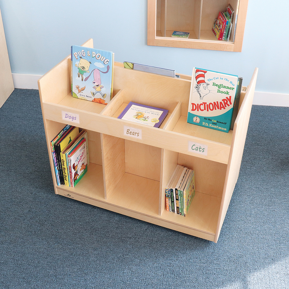 Whitney Brothers® Mobile Library Book Cabinet