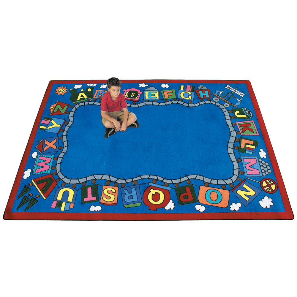 Joy Carpets Reading Train™ Children's Reading Carpets