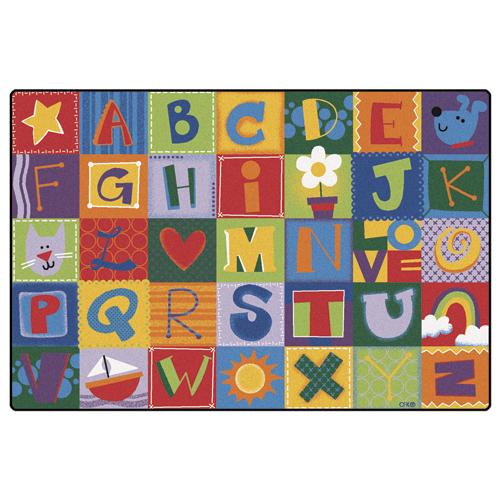 Carpets for Kids Alphabet Blocks Children's Reading Carpets