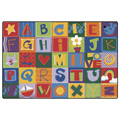 Carpets for Kids Alphabet Blocks Rug