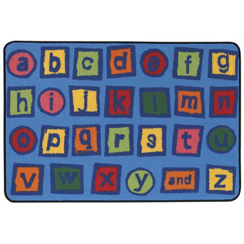KIDS Value Rugs™ Alphabet Blocks Rug