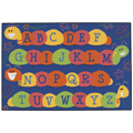 KIDS Value Rugs™ Caterpillar Friends Blue  Rug