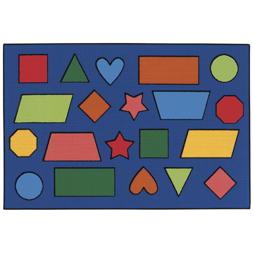 KIDS Value Rugs™ Color Shapes Rugs