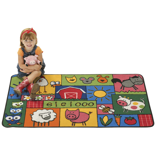 KIDS Value Rugs™ Old MacDonald's Farm Rugs