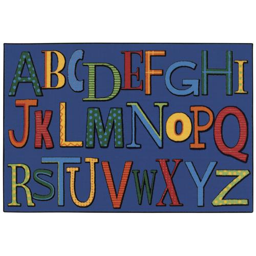 KIDS Value Rugs™ Playful Alphabet Rug