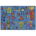 KIDS Value Rugs™ Reading Robots Rugs