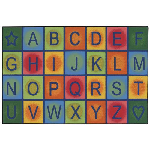 KIDS Value Rugs™ Simple Alphabet Blocks Rugs