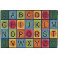 KIDS Value Rugs™ Simple Alphabet Blocks Rug
