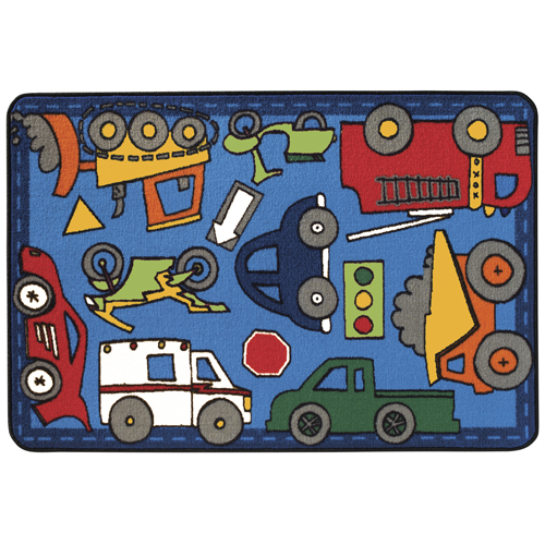 KIDS Value Rugs™ Wheels on the Go Rugs