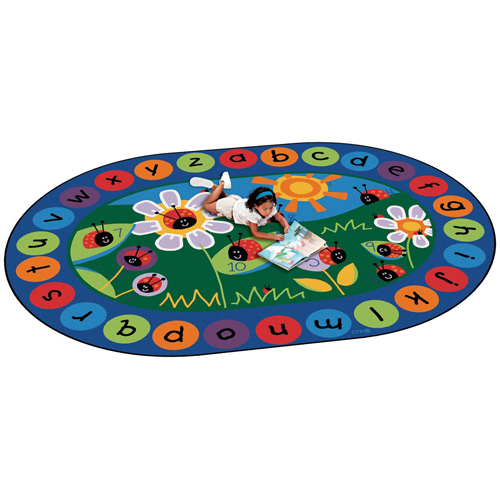 Carpets for Kids Ladybug Circletime Children's Reading Carpets