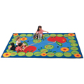 Carpets for Kids ABC Caterpillar Rug  Children's Reading Carpets