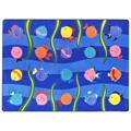 Joy Carpets Friendly Fish™ Children's Reading Carpets