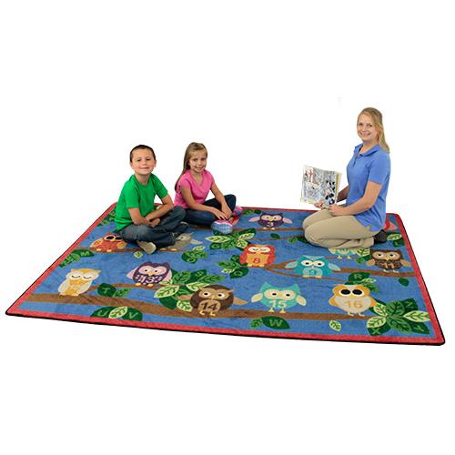 Joy Carpets It's A Hoot™ Children's Reading Carpets