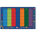 Carpets for Kids Calendar Celebrations Rug