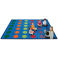 Carpets for Kids Seating Circles Rug