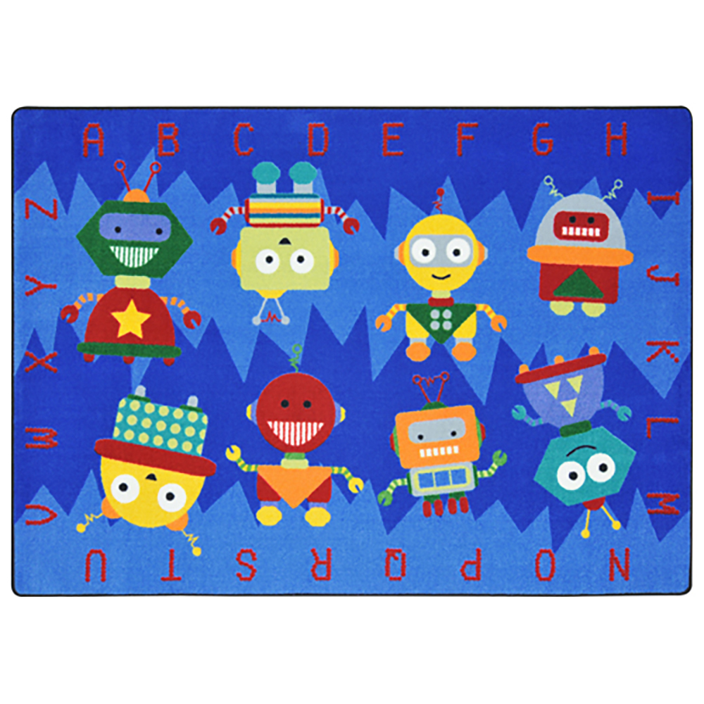 Joy Carpets Alphabet Bots™ Rug