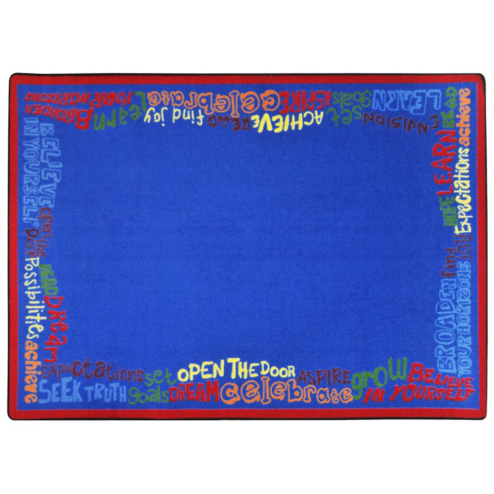 Joy Carpets Read Believe & Achieve™ Rug