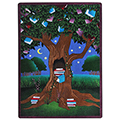 Joy Carpets Reading Tree™ Children's Reading Carpets