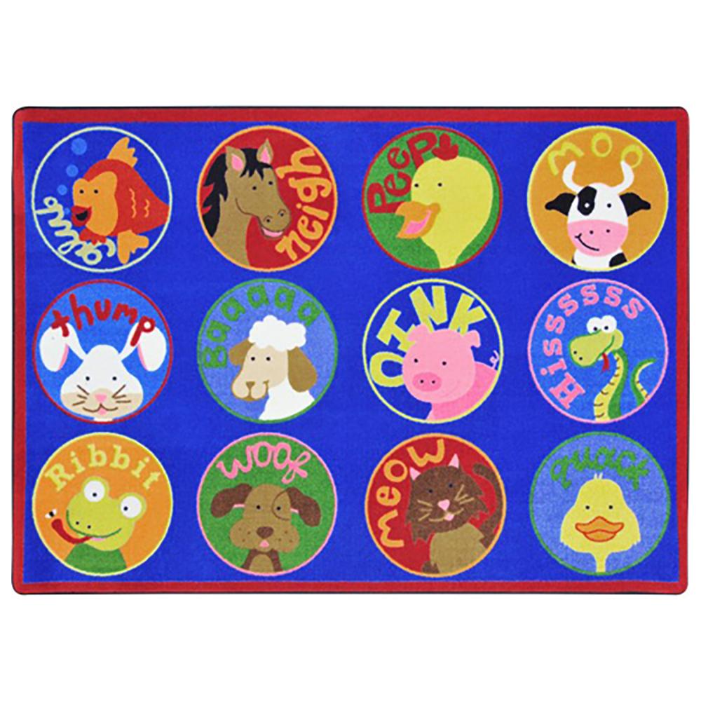 Joy Carpets Creature Calls™ Children's Carpets