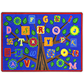 Joy Carpets Alphabet Leaves™ Children's Reading Carpets
