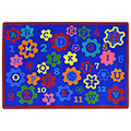 Joy Carpets Geared for Learning™ Children's Reading Carpets - 5 ft. 4 x 7 ft. 8