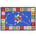 Joy Carpets Alphabet Pinwheel ™ Children's Carpets