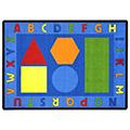 Joy Carpets Alphabet Pinwheel ™ Children's Reading Carpets