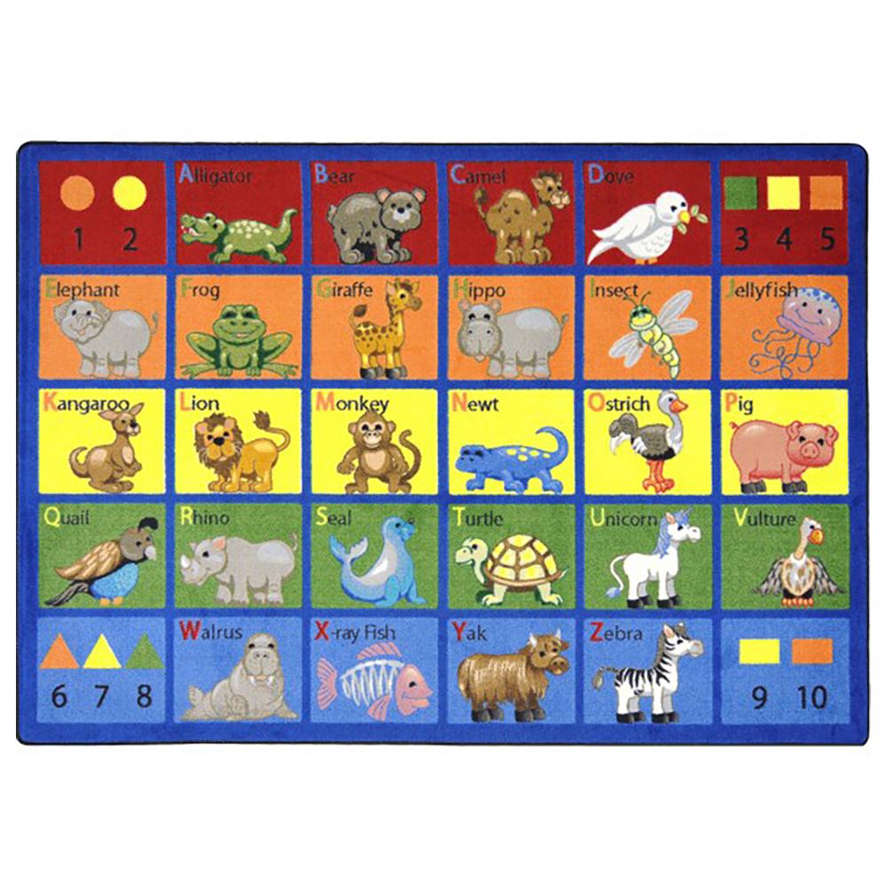 Joy Carpets Animal Phonics™ Children's Reading Carpets