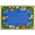 Joy Carpets Jungle Friends™ Children's Reading Carpets