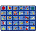 Joy Carpets Alphabet Blues™ Carpets