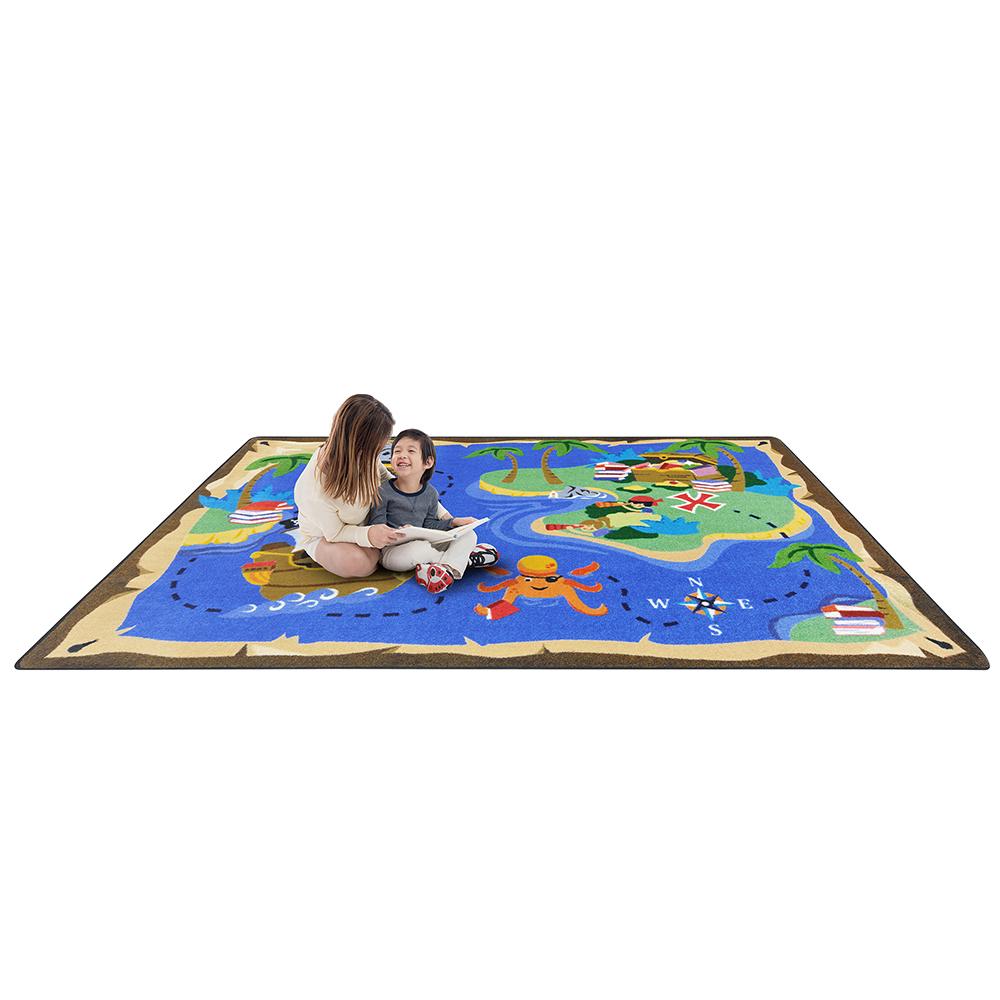 Joy Carpets Books Are Treasures™ Carpets