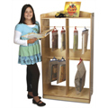 Whitney Brothers™ Adjustable Hanging Bag Display