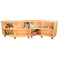 Wood Designs™ Contender™ Mobile Storage Units
