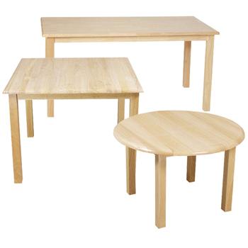 Wood Designs™ Childrenu0027s Hardwood Tables