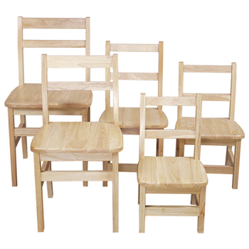 Wood Designs™ Children's Hardwood Chairs
