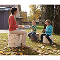 MeroWings® Woodsmen Naturescape Tree Trunk Stools