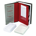 Clear Book Pocket-Book Card Combo Pack- 100 Pkg