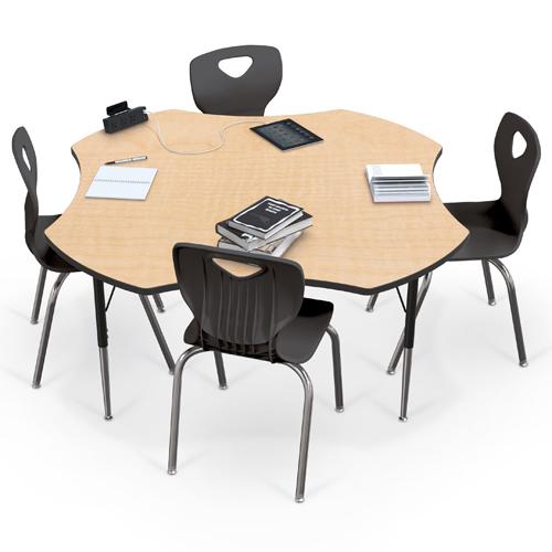 MooreCo®  Adjustable Activity Table - Clover