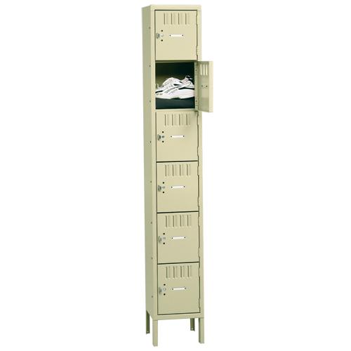 "tennsco™ Box Locker - 78""H Single Tier Locker"
