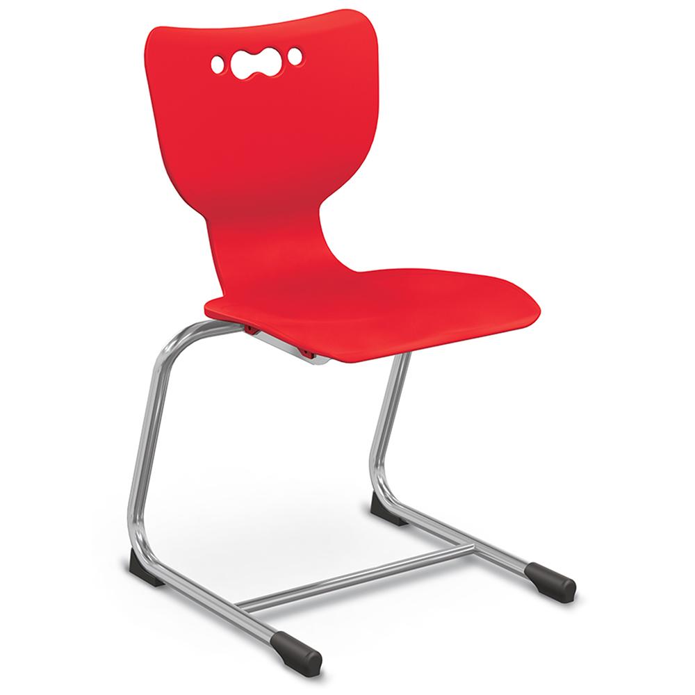 MooreCo® Hierarchy School Chair - Sled Base
