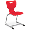 balt Hierarchy School Chairs - Sled Base, 14