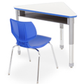 SMITH SYSTEM® Interchange Desk - Wing with Book Box