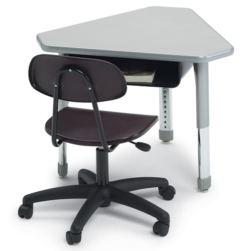 SMITH SYSTEM® Interchange Desk - Diamond with Book Box