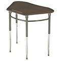 Scholar Craft™ Kaleidoscope Desk - Trapezoid Top