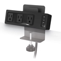 MooreCo® Creator Table Clamp Mount Outlet & USB Charger
