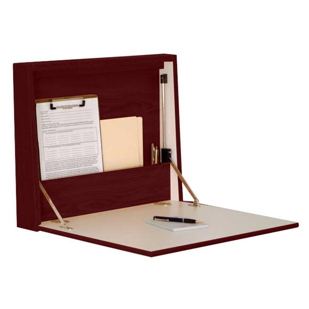 Wooden Mallet Wall Desk/Laptop Workstation