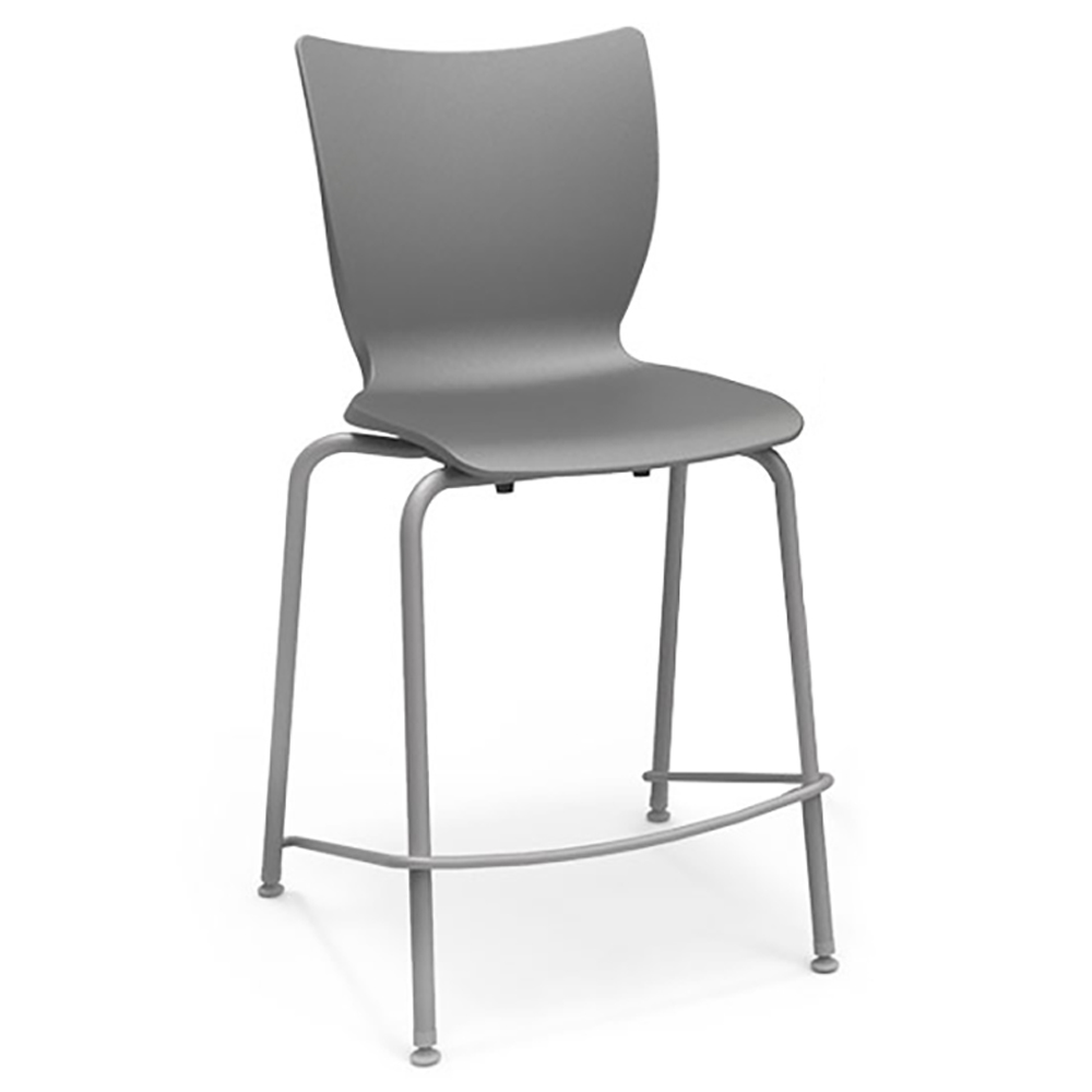 "SMITH SYSTEM® Groove™ Fixed Height Stool -24""H"