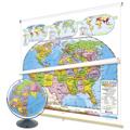 Classroom Maps & Globes