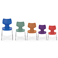 SMITH SYSTEM™ Flavors™ Chairs - Stack Base